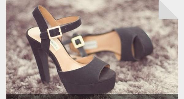 shoes black high heels
