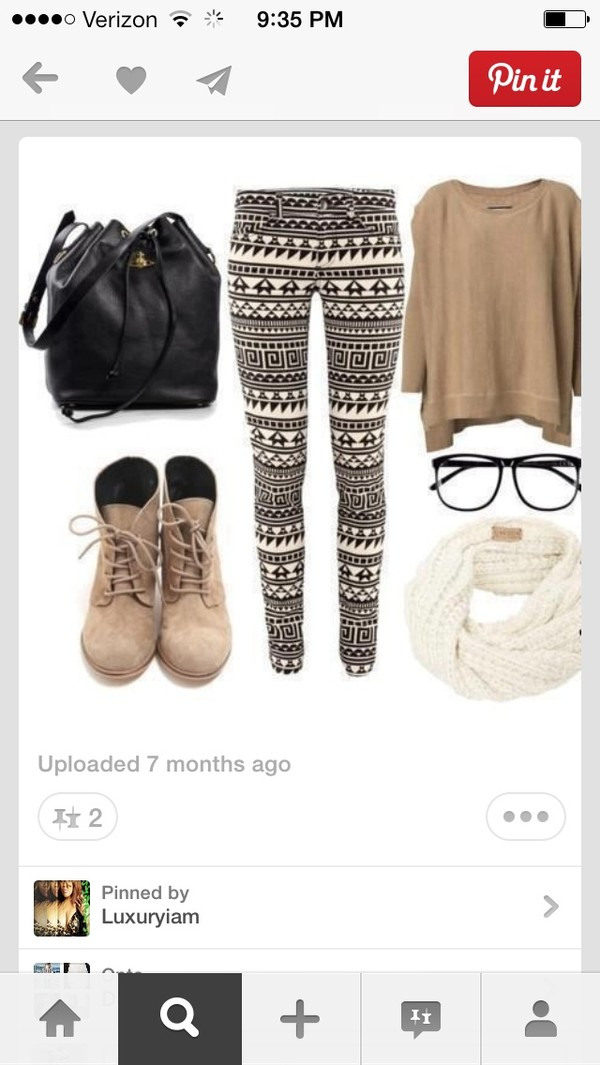jeans black and white tribal jeans shirt shoes scarf sweater sunglasses bag