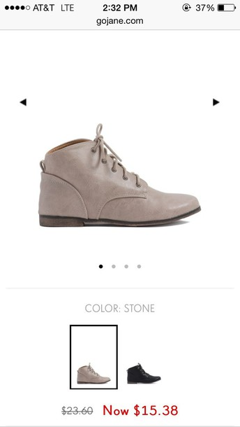 shoes stone