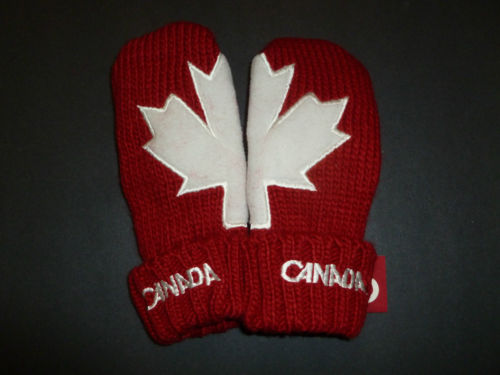 Original Team Canada 2011 Olympic Red Mittens Hudson's Bay HBC BNWT | eBay