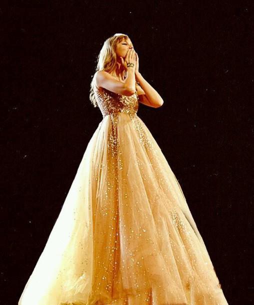 dress taylor swift dress sparkle ball gown dress nude dress