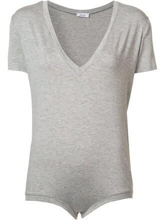 body women spandex grey underwear