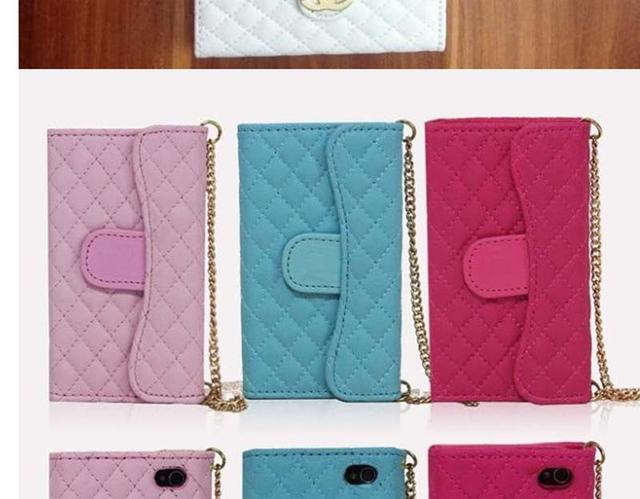 Leather Wallet Case Phone Cover Chain Handbag for iPhone 4 4S | eBay