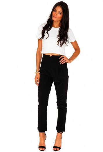 Marilyn Cigaret Trousers - trouser - missguided