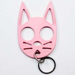 Wild Kats Self Defense Keychain - PINK