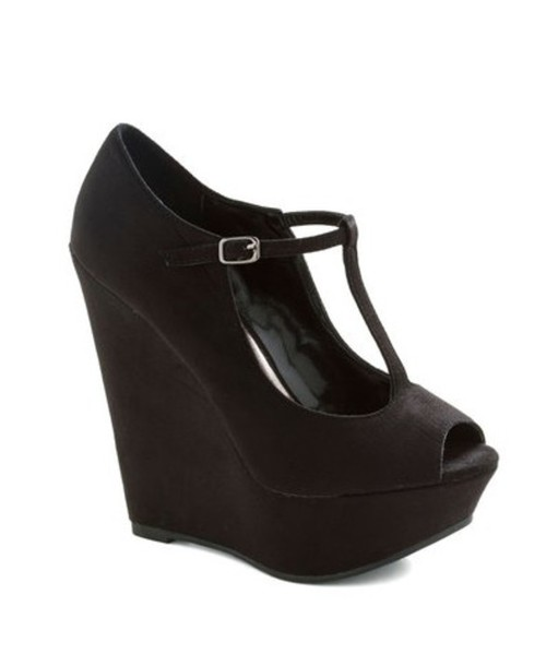 shoes t strap heels black heels black wedges t strap shoes open toed heels open toed wedges