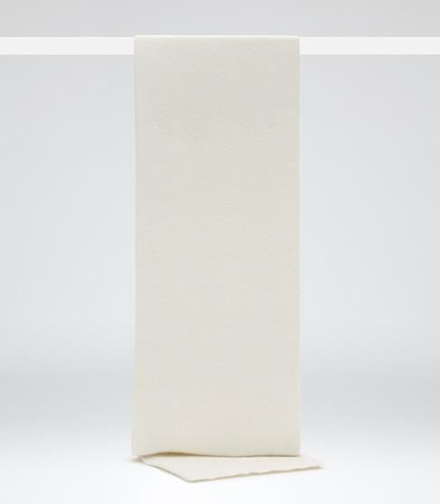 Juliana Scarf White Angora-blend Scarf - REISS