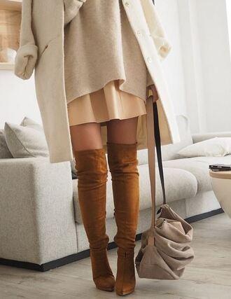 boots heels overknee overknee boots bag dress coat shoes