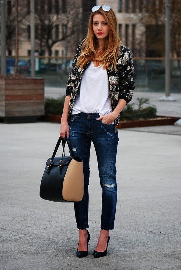 fifty pairs of shoes t-shirt jeans bag shoes sunglasses jacket