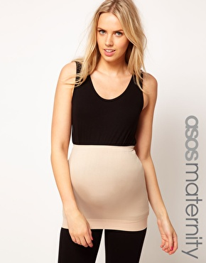 ASOS Maternity | ASOS Maternity Exclusive Seamfree Belly Band With Support For The Perfect Bump at ASOS