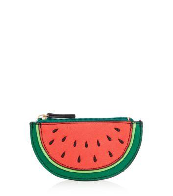 Red Watermelon Zip Top Purse
