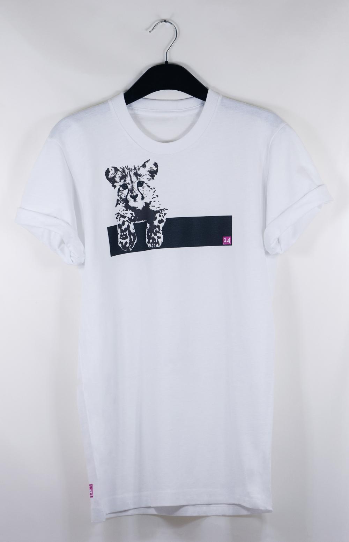 Cheetah Kitten T Shirt   Impression14