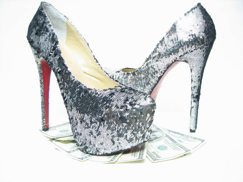 Christian Louboutin Daffodile 160 paillette Black silver platforms pumps [Christian Louboutin Daffodile] - $106.00 : Shoes, Sandals, Boots On Sale & Outlet - Isooi.net