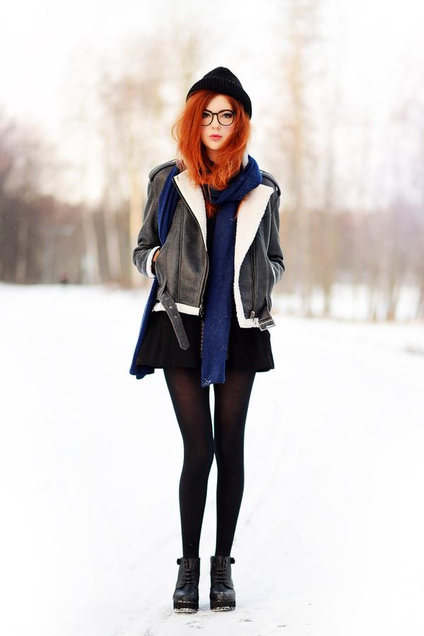 ebba zingmark jacket dress scarf bag shoes