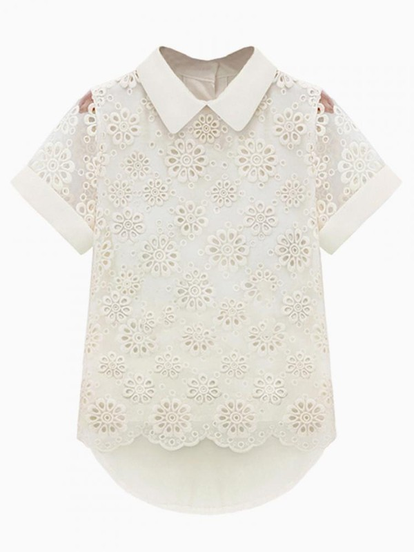blouse Choies choies blouse lace blouse