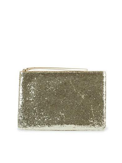 Glitter Clutch - Nly Accessories - Gull - Vesker - Tilbehør - Kvinne - Nelly.com