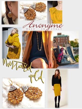 jewels gold mustard girl wish precious luce