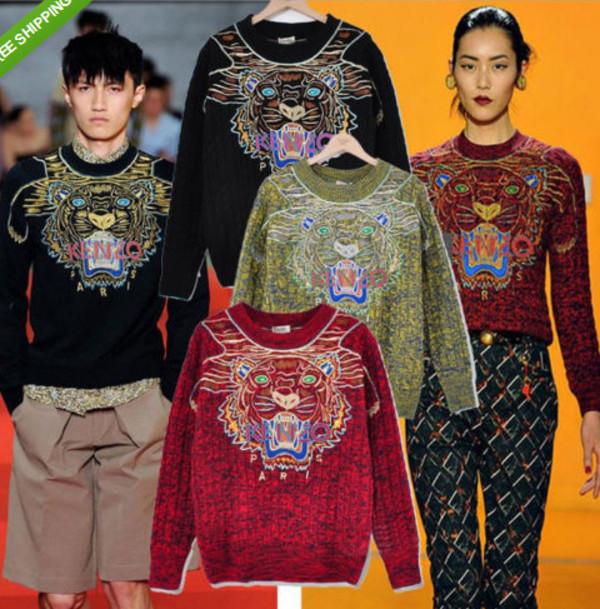 coat swater kenzo sweater stars