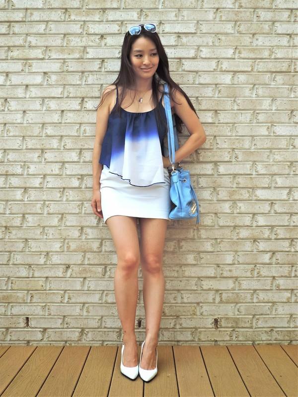 sensible stylista jewels bag shoes top skirt sunglasses