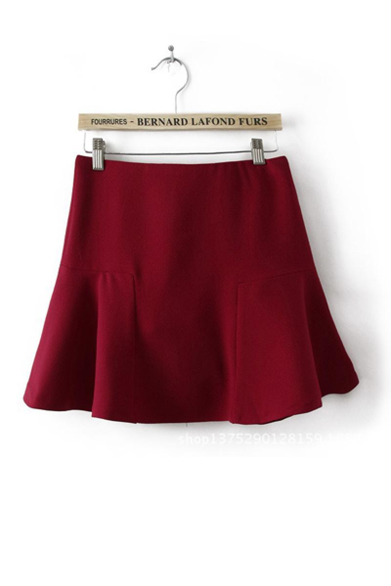 2013 Autumn & Winter Pleated Skirt,Cheap in Wendybox.com