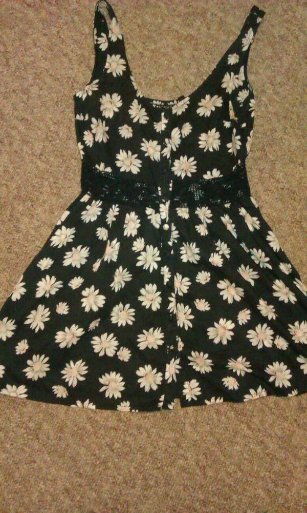 Topshop daisy dress size 6-8 | eBay