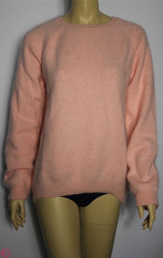 H M Lana Del Rey Kollektion Hipster Angora Wolle Pullover Pulli Rosa XS s M L XL | eBay