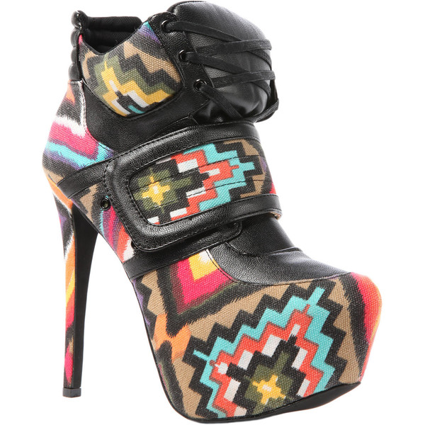 Privileged The Swag Shoe in Black Multi - Polyvore