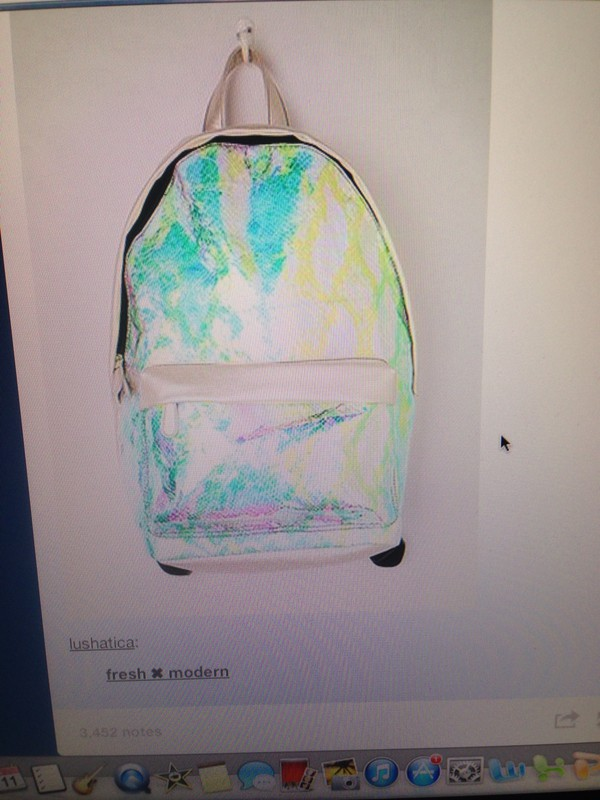 bag backpack crocodile scales holographic holographic