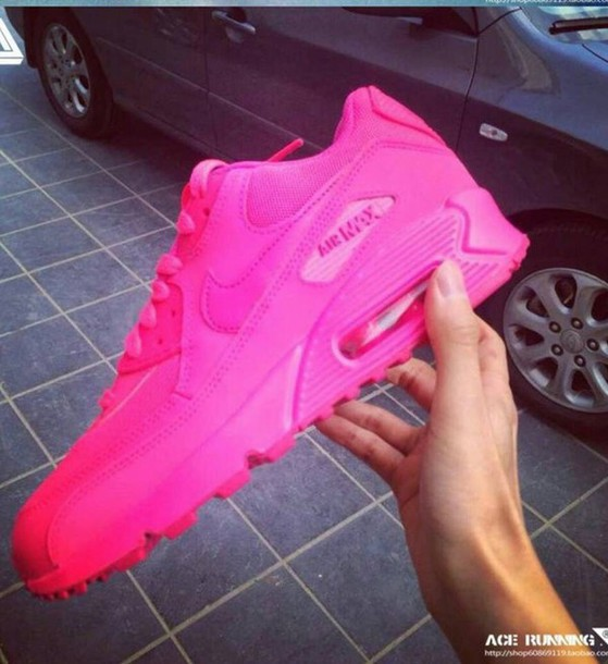 shoes pink nike airmax