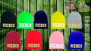 Bieber Justin Believe Swaggy Bieber Fever Newest Design Winter Beanie | eBay