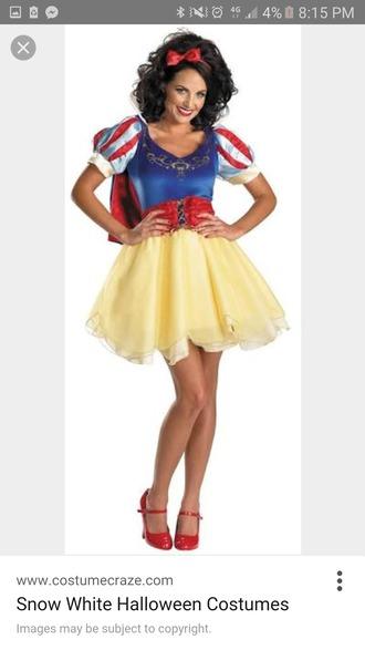 dress snow white costume