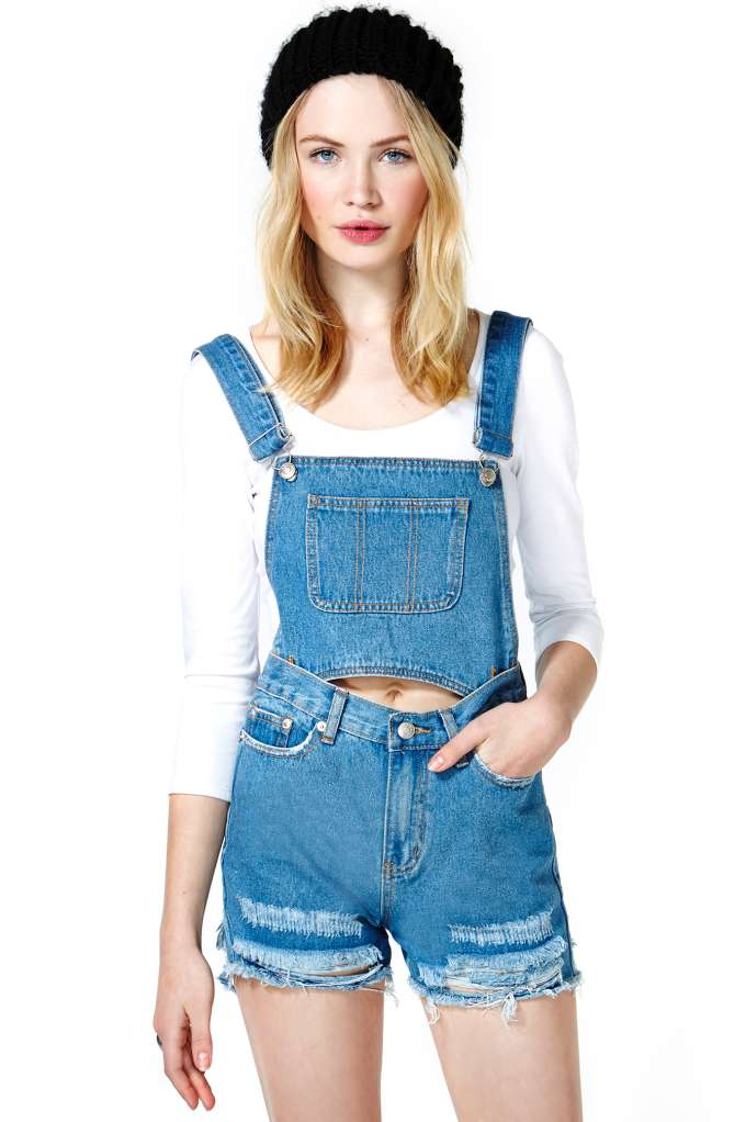 Sweet Tennessee Overalls at Nasty Gal