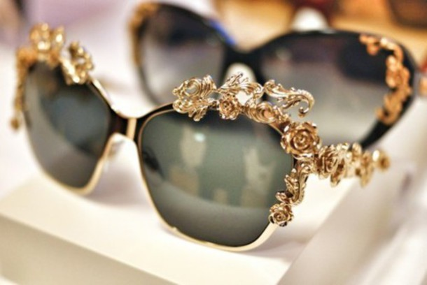 sunglasses details metal
