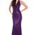 Fishtail Halter Neck Sequin Sheath Cocktail Maxi