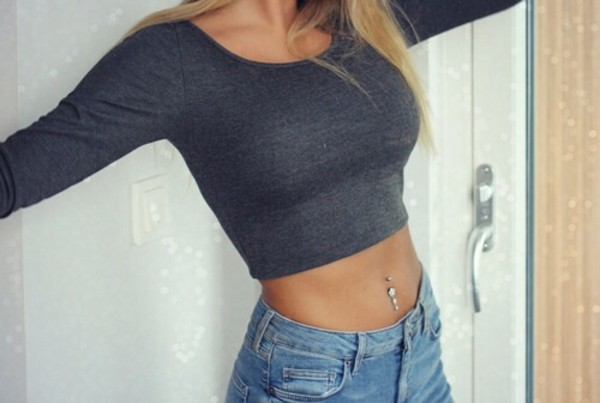 tank top top top style swag swag grey shorts topshop summer cool swimwear cozy cute blue pretty long sleeves long sleeves denim shorts grey short crop tops jewels shirt