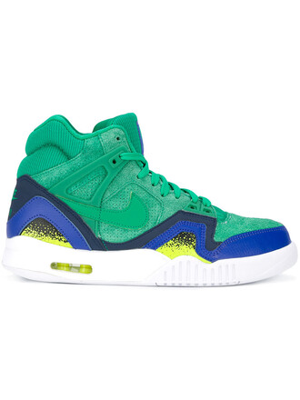 women sneakers leather cotton suede green shoes
