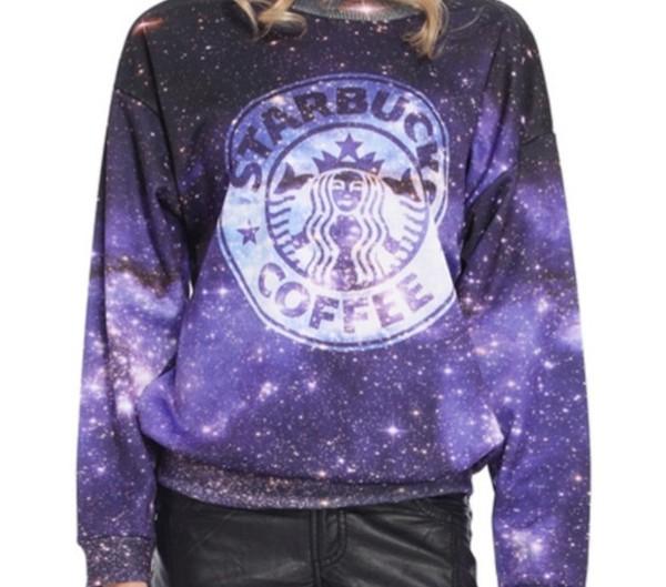 sweater starbucks coffee