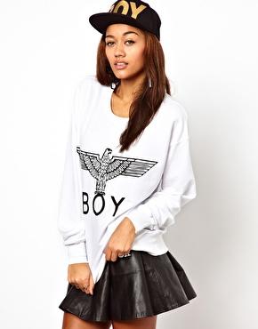 BOY London   BOY London Eagle Sweatshirt at ASOS
