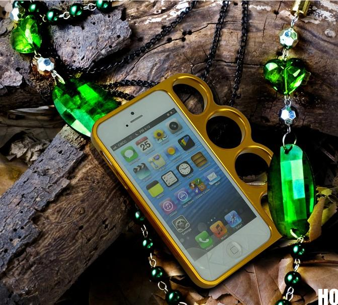 HO AU Fashion Lord Rings Knuckles Finger Phone Frame Case Cover for iPhone 4 5S | eBay