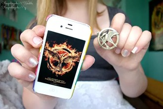jewels broche fleur the hunger games mockingjay pin