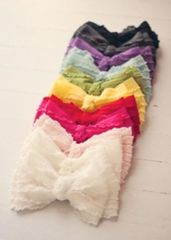 shirt colorful bandeau ruffle bow cute white bandeau bandeau top