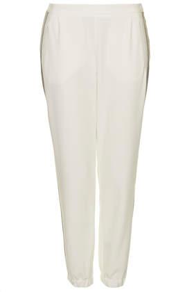 Rib Side Stripe Joggers - Trousers - Clothing - Topshop