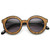 Popular Indie Block Cut Pattern Round Womens Sunglasses 9157                           | zeroUV