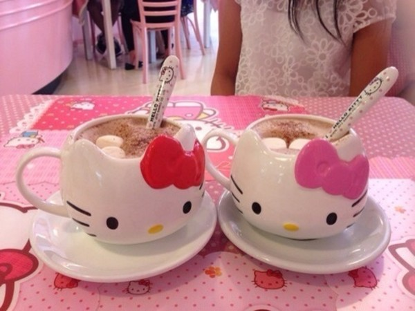 jewels hello kitty cup