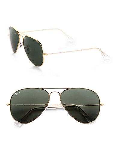 Ray-Ban - Original Aviator Sunglasses - Saks.com