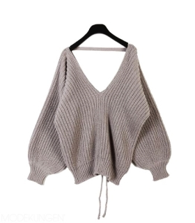 Sweater - V shape - Sweaters & Cardigans - Women - Modekungen - Fashion Online | Clothing, Shoes & Accessories