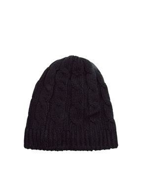 Kitsound | KitSound Cable Knit Beanie Hat at ASOS
