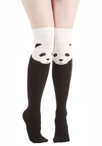 socks women style 2015 panda kawaii