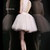 White Lace High Neck Short Sherri Hill 21345 Tulle Cocktail Dress [Sherri Hill 21345 White] - $252.00 : Prom Dresses 2014 Sale, 70% off Dresses for Prom