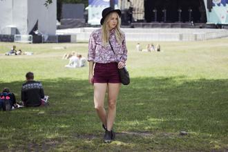 bag shoes jewels hat shorts blouse elenita